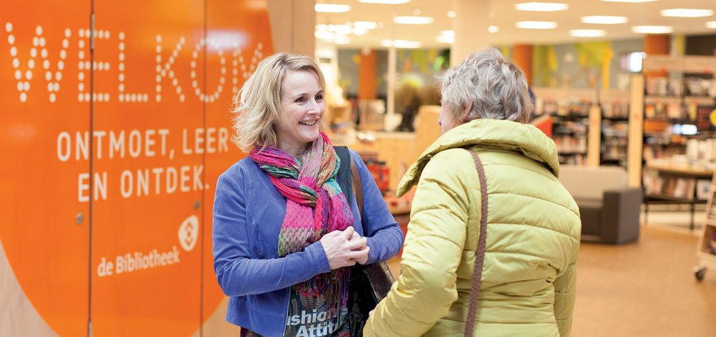 Biblionet Groningen biedt platform voor initiatieven Welkom in de Buurt